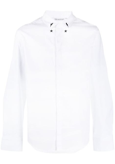 Star bolt shirt  NEIL BARRETT | Shirts | PBCM1471CQ016S526