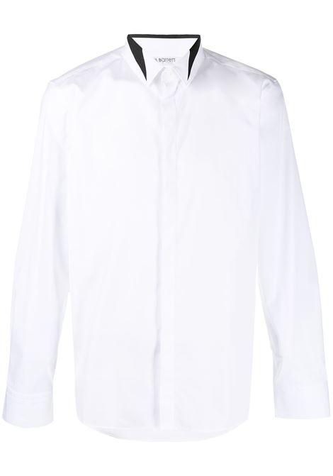 Contrast stripe collar shirt NEIL BARRETT | Shirts | PBCM1474CQ018S526