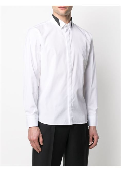 Camicia con colletto a contrasto Uomo NEIL BARRETT | PBCM1474CQ018S526