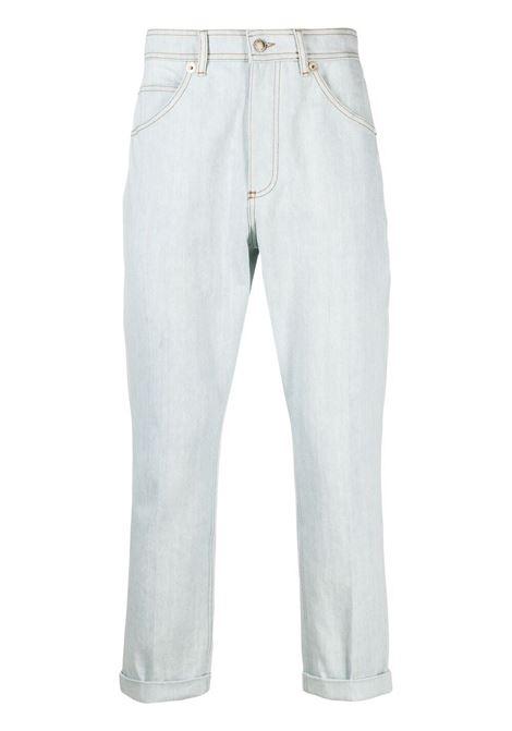 Neil barrett jeans dritti uomo ice denim NEIL BARRETT | Jeans | PBDE319Q813T3100