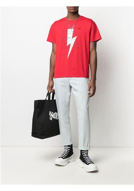 Neil barrett straight-leg jeans men ice denim NEIL BARRETT | PBDE319Q813T3100