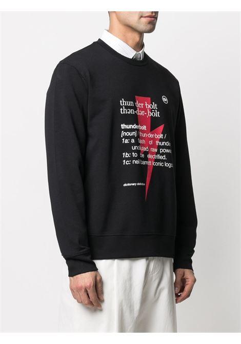 Thunderbolt sweatshirt NEIL BARRETT | PBJS721SQ513S1495
