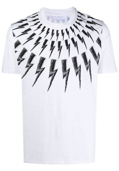 Thunderbolt T-shirt  NEIL BARRETT | T-shirt | PBJT883SQ516S526