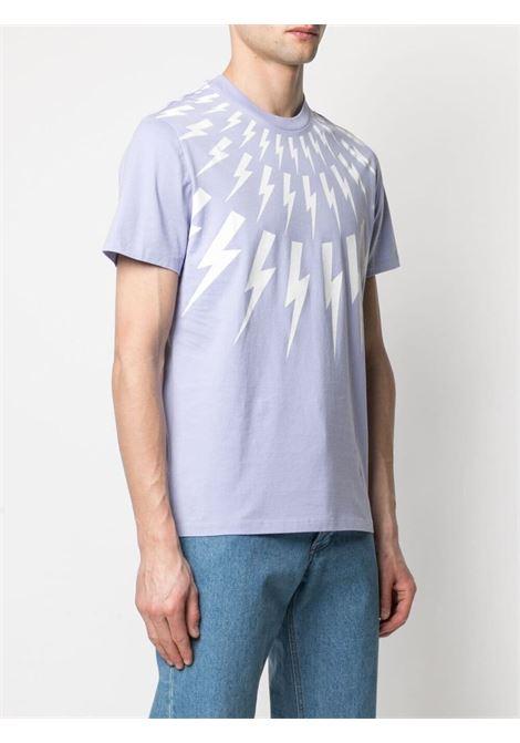 T-shirt Thunderbolt Uomo NEIL BARRETT | PBJT890SQ509S3123