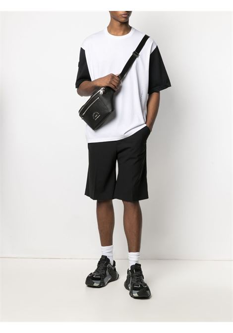 Contrast-sleeve T-shirt  NEIL BARRETT | PBJT902BQ506C1977