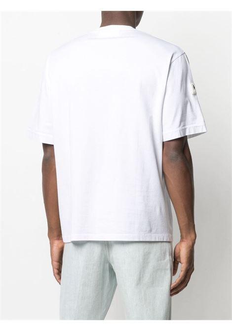 T-shirt con stampa Uomo NEIL BARRETT | PBJT902BQ506C538