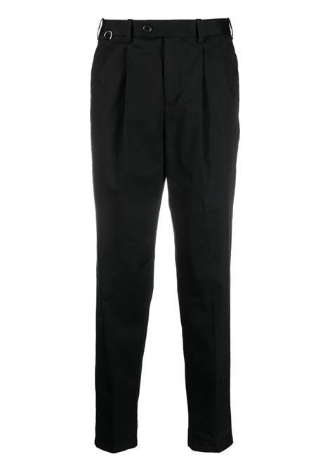 Neil Barrett pantaloni minimalist uomo black NEIL BARRETT | Pantaloni | PBPA802VQ01101