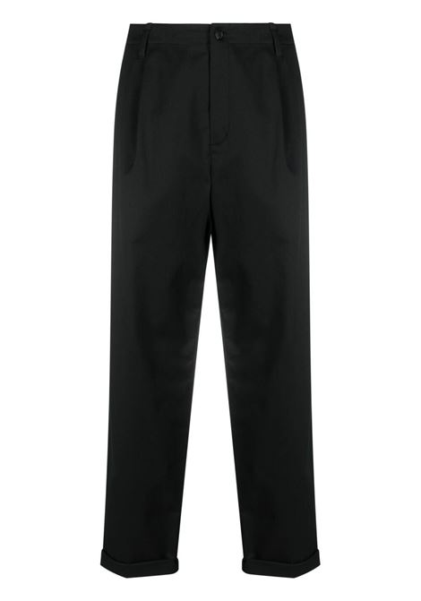 Neil Barrett pantaloni dritti uomo black NEIL BARRETT | Pantaloni | PBPA817XQ01101