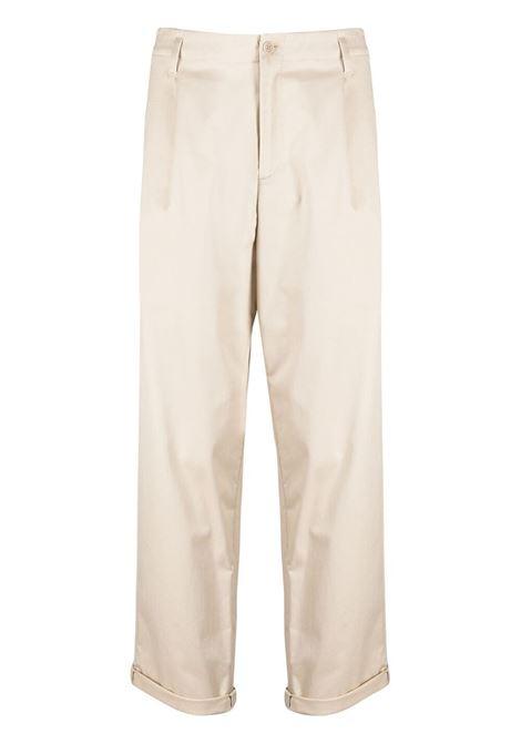 Neil Barrett pantaloni dritti uomo natural NEIL BARRETT | Pantaloni | PBPA817XQ011427