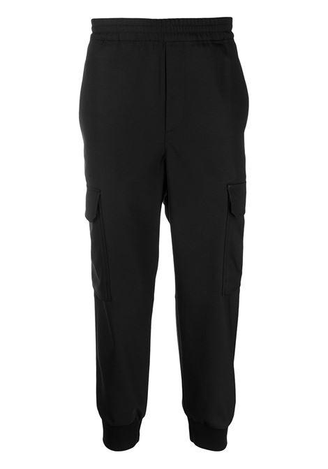 Cropped track pants NEIL BARRETT | Trousers | PBPA834HQ00501