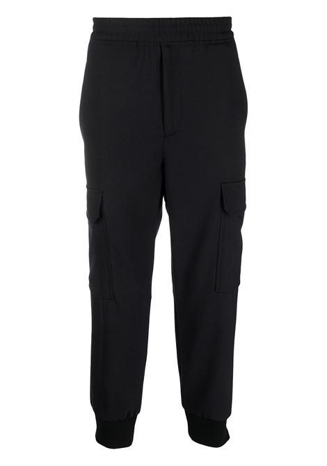 Cropped track pants NEIL BARRETT | Trousers | PBPA834HQ005415