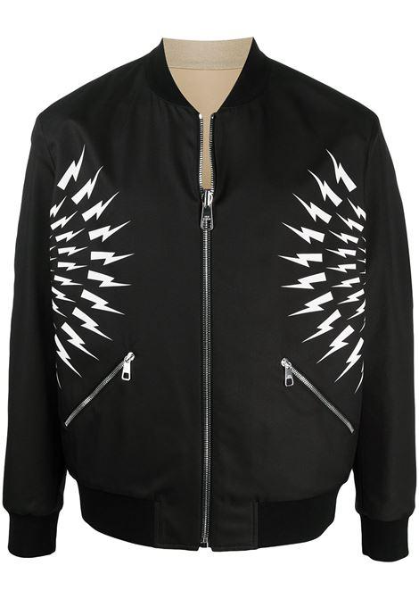 Lightning bolt jacket NEIL BARRETT | Outerwear | PBSP544RQ014C3134
