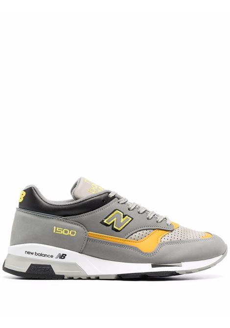 Sneakers con logo uomo grey yellow NEW BALANCE | M1500GGYGRYYLLW