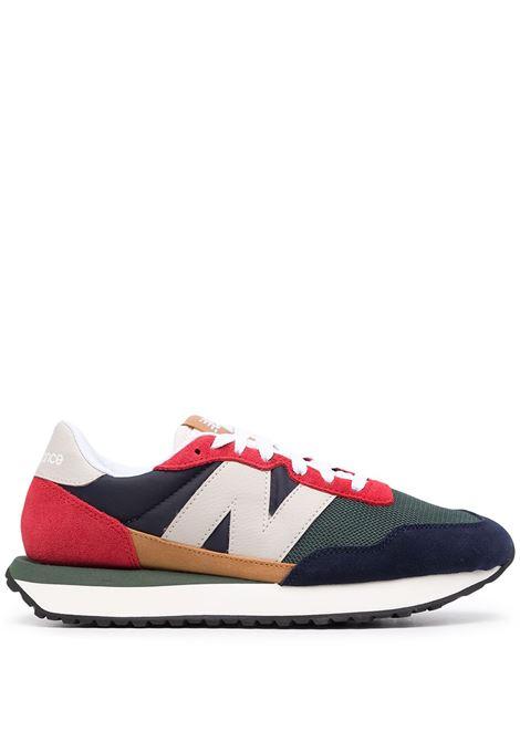 New blance 237 sneakers men red multicolor NEW BALANCE | Sneakers | MS237LA1RDMLTCLR