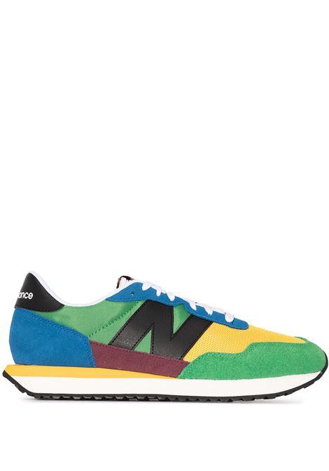New balance colour-block sneakers men blue multicolor NEW BALANCE | Sneakers | MS237LB1BLMLTCLR