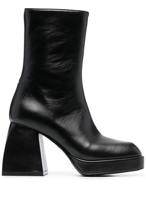 Nodaleto stivali con tacco largo donna black NODALETO | Stivali | NO4429BLK