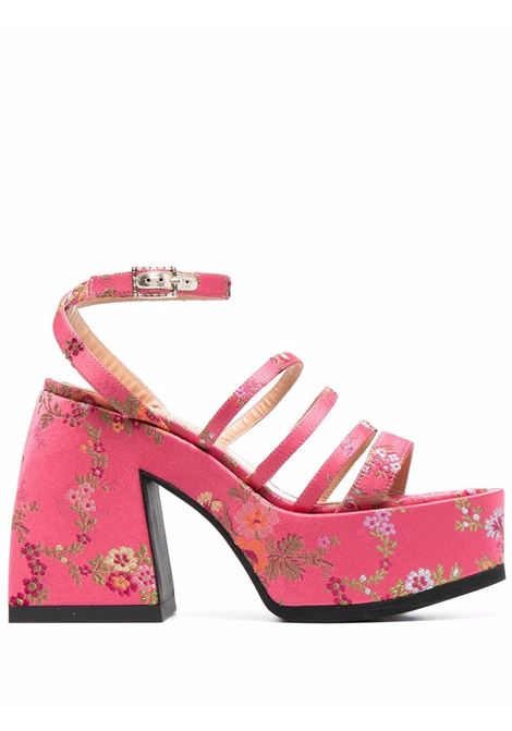 Nodaleto sandali a fiori donna NODALETO | Sandali | NO52839PNK