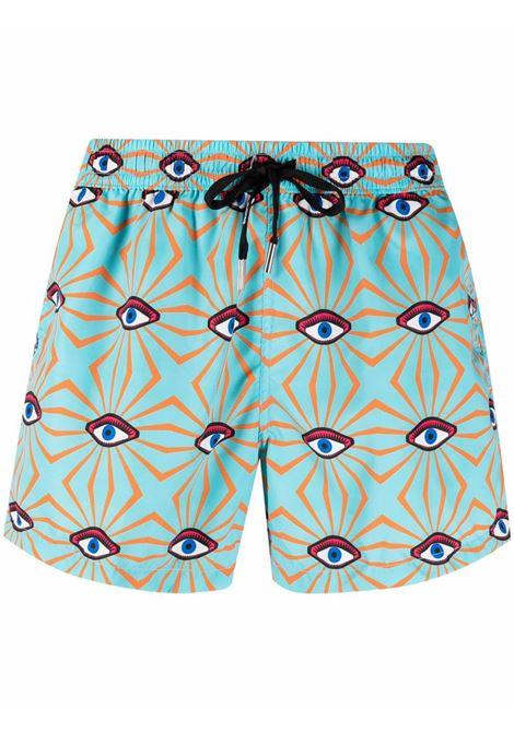 Eye-print swimming shorts men  NOS | Swimwear | NB21101V3