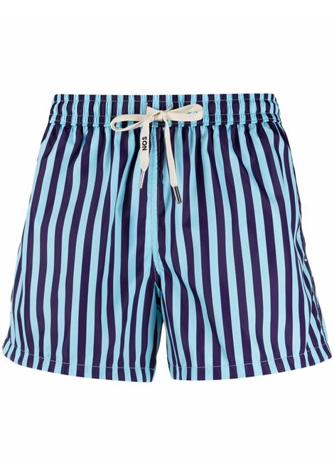 Nos striped swim shorts men fantasia   NOS | Swimwear | NB21114V1