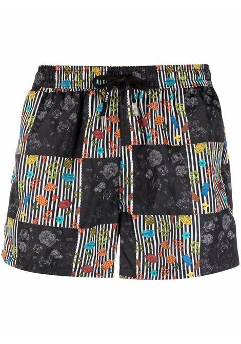 Nos graphic-print swim shorts men fantasia   NOS | Swimwear | NB21118V1
