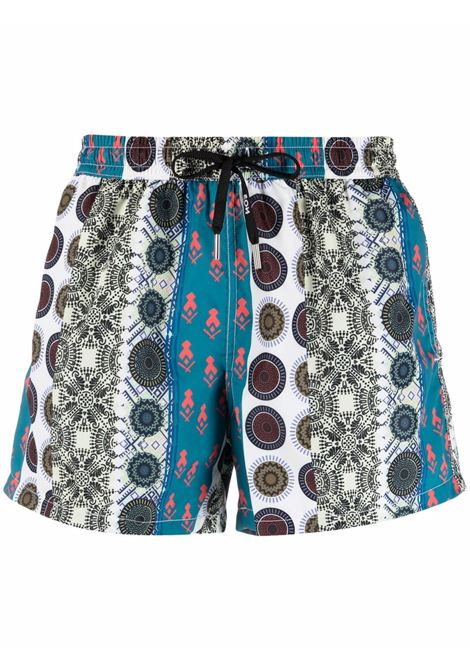 Nos graphic-print swim shorts men fantasia   NOS | Swimwear | NB21119V1