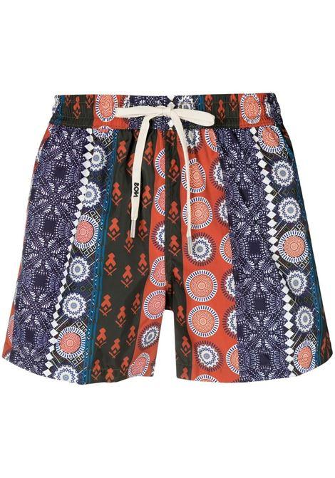 Nos graphic-print swim shorts men fantasia   NOS | Swimwear | NB21119V2
