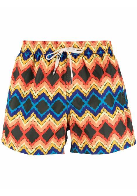 Nos graphic-print swim shorts men fantasia   NOS | Swimwear | NB21120V2