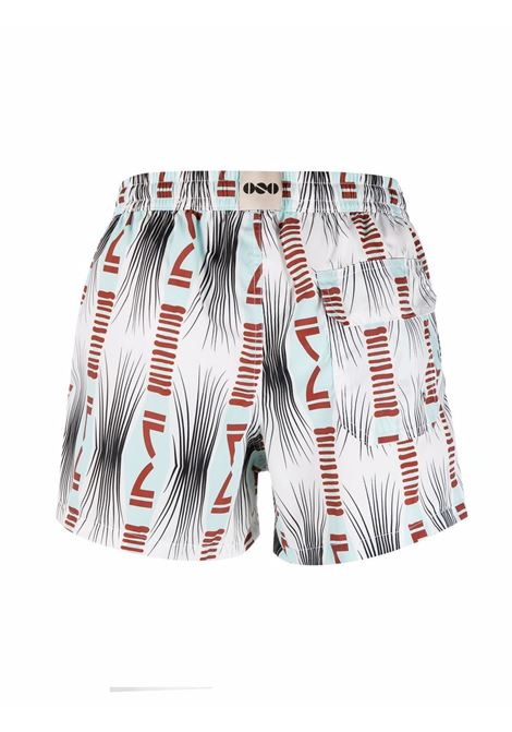 Nos abstract-print swim shorts men fantasia   NOS | NB21125V1
