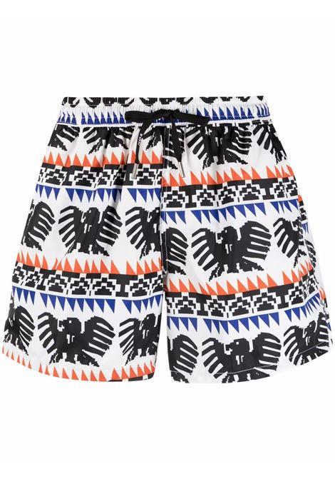 Nos graphic-print swim shorts men fantasia   NOS | Swimwear | NB21131V2