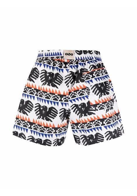 Nos graphic-print swim shorts men fantasia   NOS | NB21131V2