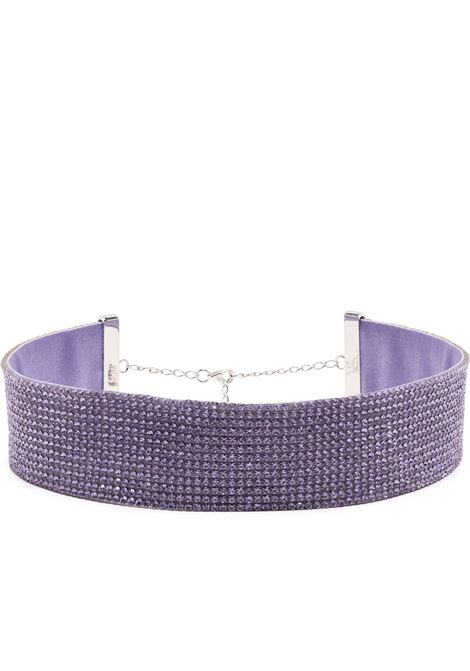 Nué charlotte choker women lilac purple NUÉ |  | 10108