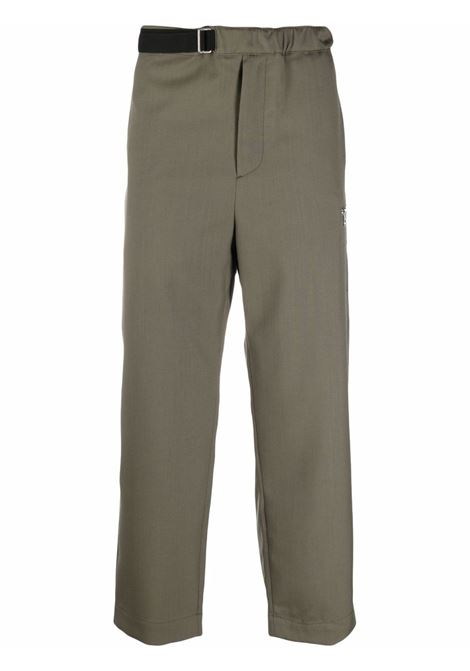 Oamc belted trousers dark moss OAMC | Trousers | OAMS310633OS200100018