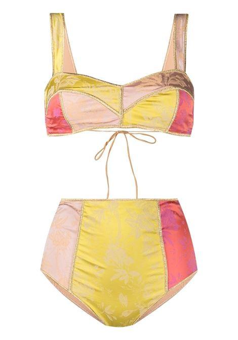 Reversible bikini set OSÉREE | Swimwear | BRS216MLTCLR