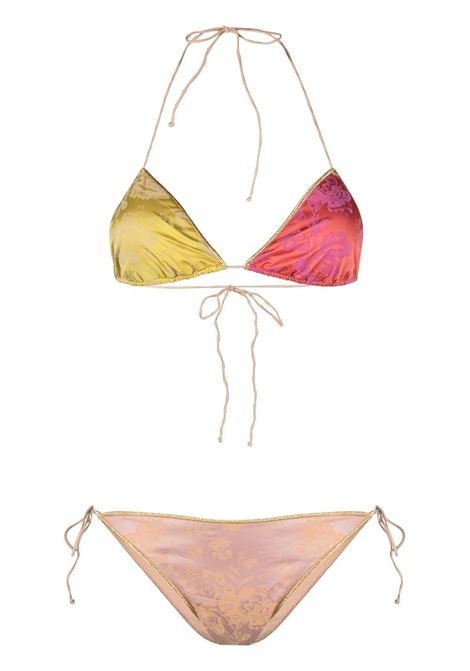 Oséree set bikini con design color-block donna multicolor OSÉREE | Costumi | BTS216MLTCLR