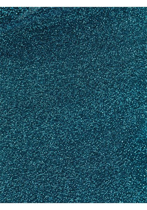 Lurex halterneck bikini set in ocean blue - women OSÉREE | LBF213OCNBL