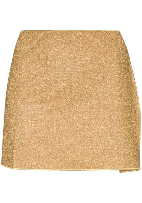Lumière metallic mini skirt OSÉREE | Skirts | LKS216GLD