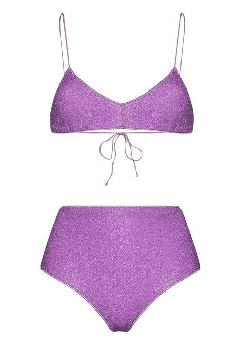 Lumiére lurex bikini set OSÉREE | Swimwear | LMS803LLC