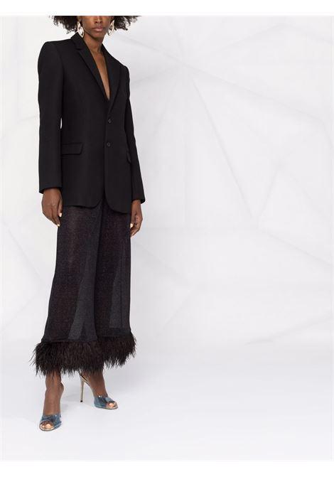 Pantaloni a gamba ampia lumière in nero - donna OSÉREE | LPF213BLK