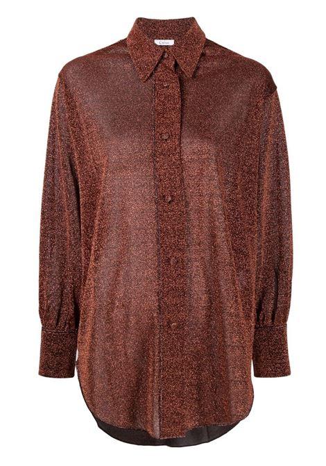 Lurex longshirt OSÉREE | Shirts | LSF202BRWN