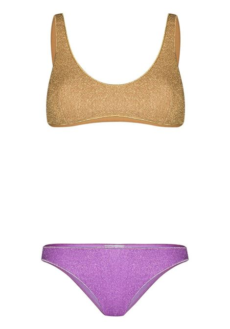 Two-tone bikini set OSÉREE | Swimwear | LSS205GLDLLC