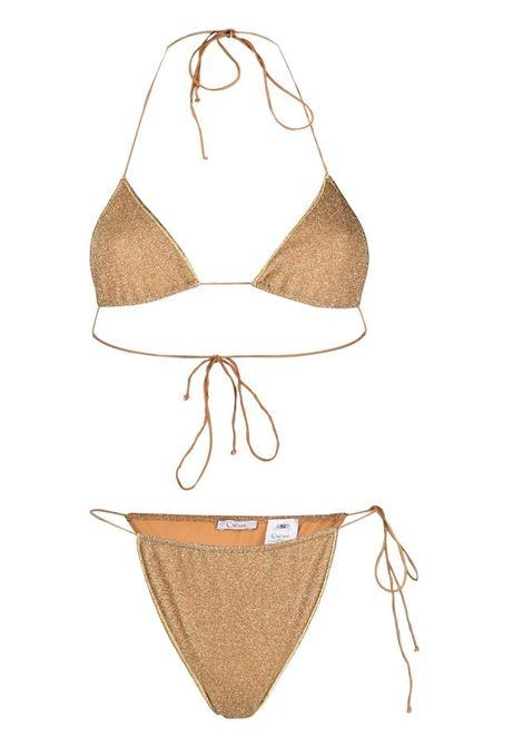 Lurex microkini lumiere set OSÉREE | Swimwear | LTS216GLD
