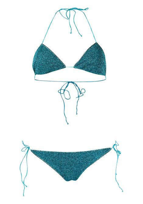 Lumière bikini set ocean blue - women  OSÉREE | LTS601OCNBL