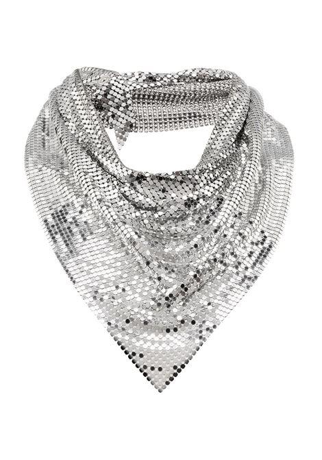 Draped mesh necklace PACO RABANNE | Necklaces | 19EBB0018MET004P040