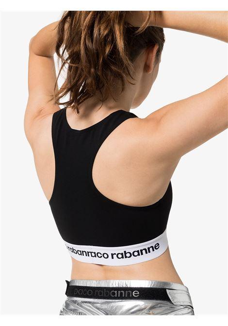 Logo-band sports top PACO RABANNE | 19EJT0001VI0071P001