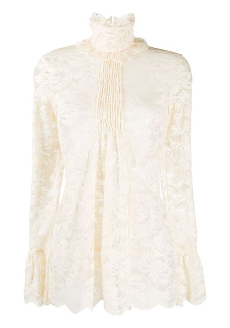 High-neck blouse PACO RABANNE | Blouses | 20HJT0272PA0170P105