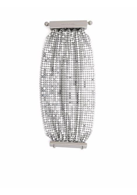 Pixel-tie bracelet women silver PACO RABANNE | Bracelets | 21EBB0150MET042P040