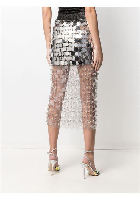 Paco rabanne sparkle skirt women trasparent PACO RABANNE | 21EIJU214PS0138P141