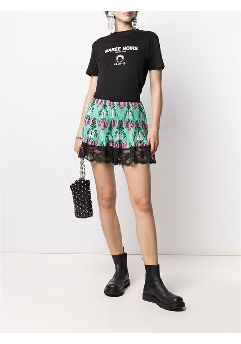 Lace-trimmed shorts PACO RABANNE | 21PCPA013P00211V440