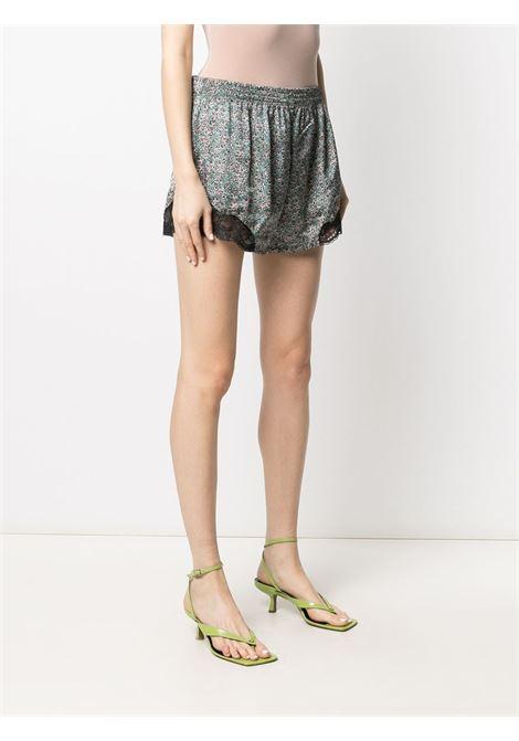 Floral-print shorts PACO RABANNE | 21PCPA069P00273V441