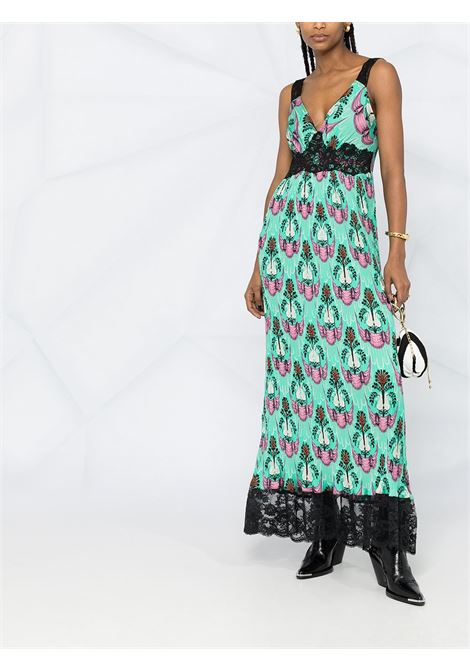 Abstract print dress PACO RABANNE | 21PCR0078P00211V440